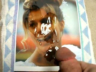 Blonde bride starts her new life with my cum on her face...