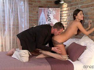 Hottest pornstar Eva Strauss in Fabulous Romantic, Skinny adult video