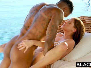 BLACKED Little Caprice Is A Hot Wife On Vacation