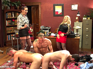 Aiden Starr & Maitresse Madeline Marlowe in Corporate Scum Cfnm Humiliation Take Over: Part 2 - D...