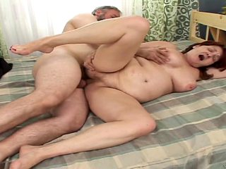Redhead makes a dream of never-ending dick sucking a reality