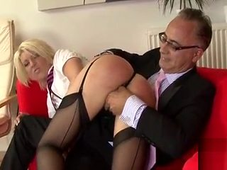 Staggering blonde Cyprus fucked from behind