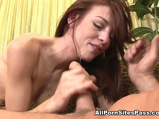 Riley Shy in Hardcore BJ Cumshots  Video - AllPornsitesPass