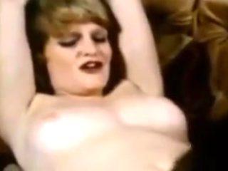 Retro vintage lesbian big cock cumshot threesome tits