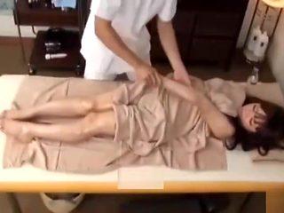 Schoolgirl japanese massage and fucked 001