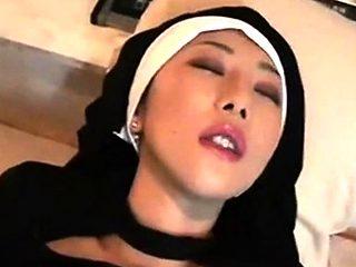 Asian nun