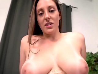 Busty slut with a fine ass creampied