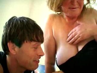 Granny loves to fuck and suck