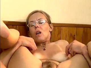 Granny fucking anal