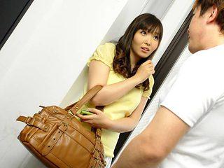 Haruka Osawa in Sweet girl next door, Haruka Osawa fucked her virgin neighbor - AviDolz