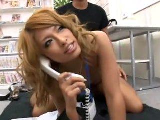 Incredible Japanese girl in Exotic Small Tits, Cumshot JAV clip