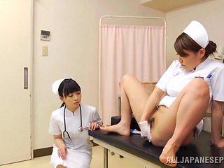 japanese nurse ass fingers another nurse
