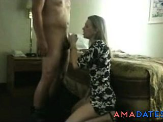His colleague gives her pleasure