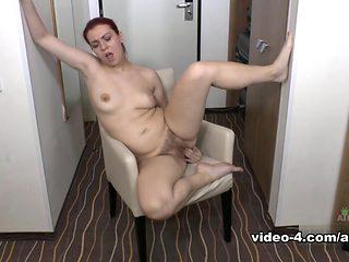 Exotic pornstar Corazon Del Angel in Hottest Solo Girl, British sex video