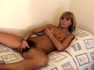 Crazy homemade Hairy, Masturbation porn clip