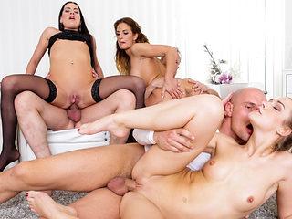 Alexis Crystal & Nicole Vice in Swingers Orgies #12 - DogHouseDigital