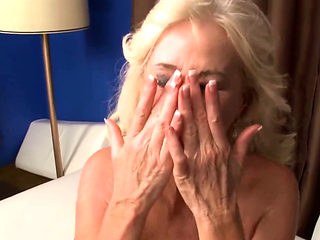 Gorgeous Blonde Granny Fucks Toyboy Good