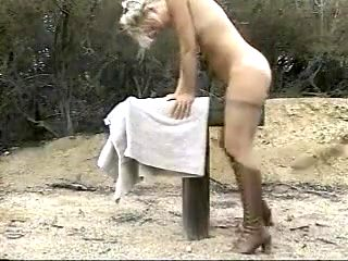 Crazy homemade Blonde, Spanking sex video