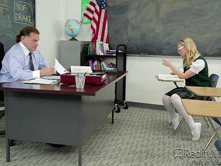 hot school girl seduces her teacher @ corrupt schoolgirls #10