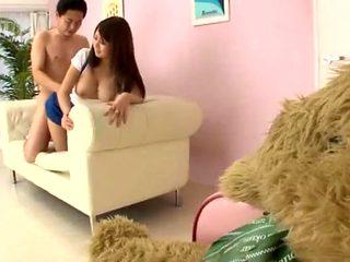 Best Japanese model Hitomi Kitagawa in Horny Big Tits JAV scene