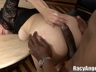 Dick craving ladies will do anything for fat black boner
