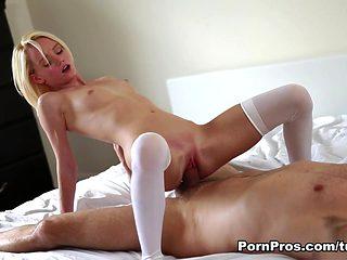 Amazing pornstar Maci Winslett in Horny Blonde, Cunnilingus porn scene