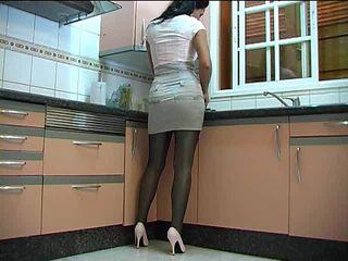 Kitchen Panty Milf