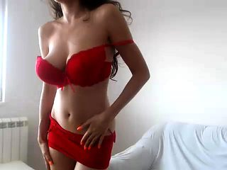 Big huge nipples boobs riding dildo webcam