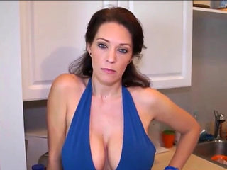 Busty Milf Suck Son's Friend