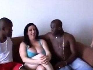 Kitty Lee Gang Banged By Black Cocks