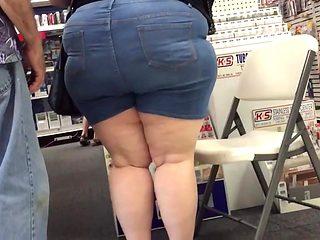 Cute huge ass