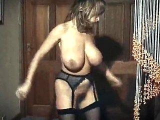 RHYTHM OF THE NIGHT - British huge tits dance tease