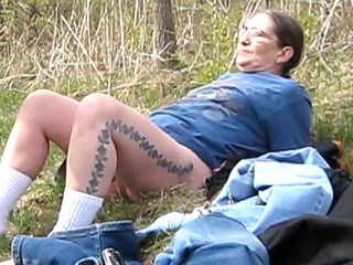 got to fuck me in the woods i need his cock now !