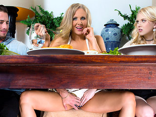 Julia Ann & Lily Rader & Lucas Frost in Stuffing the Turkey - DigitalPlayground