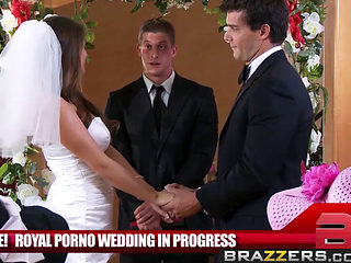 Brazzers Main Channel - Madelyn Marie Ramon - The Royal Porno Wedding