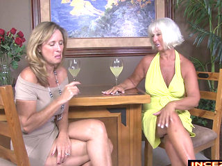 Two Mature Ladies Jerking A Lucky Guy