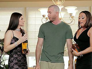 India Summer  Michelle Lay look amazing and today they are going to have threesome with Jordan As...