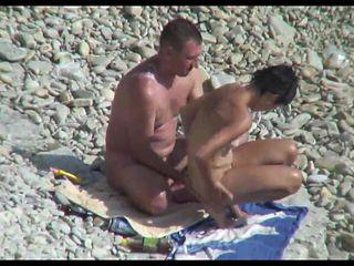 Hidden camera on the beach 3