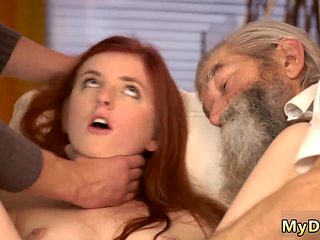 Old Ugly Guy Fucks Teen Unexpected Practice With An Older Gentleman