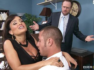 big boobs slut tests her new employee