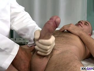 TURNED ON BY HIS HOT DOCTOR