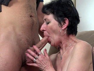 Granny Pixie Caught Masturbating
