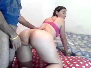 big butt nice body latin bitch fucked doggy