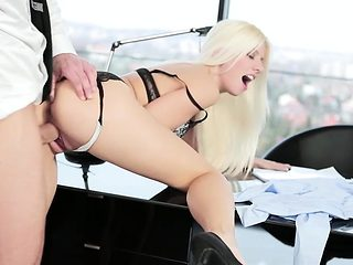 Babes - Office Obsession - Jessie Volt and Vi