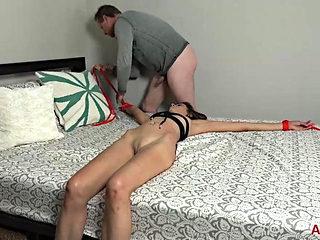 Kinky Taylor Foxx Rope Bondage Hardcore Sex