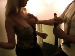 Busty Party Girl picked up