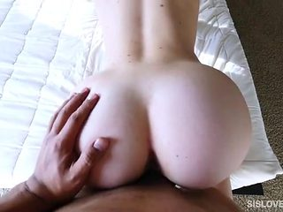 Catch your stepsister masturbating and fuck her