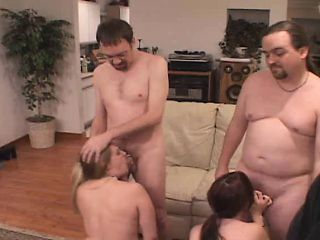 Jenna engages in cuckold sex and her husband licks her creampied cunt