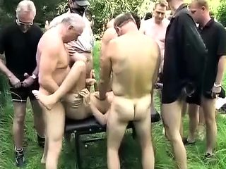 extreme german outdoor fuck party