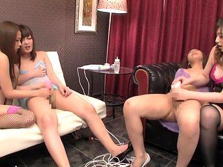 Exotic Japanese model in Crazy Masturbation, Blowjob JAV movie